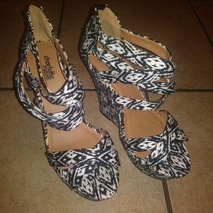 Wedge Heel Shoes $10.00 each